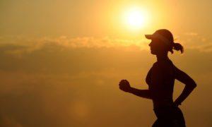 protein og chiafrø løber