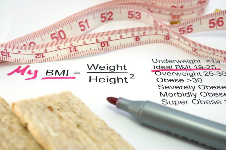 bmi beregner formel for beregning af body mass index