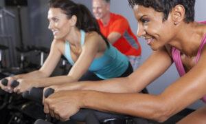 hård træning til spinning time