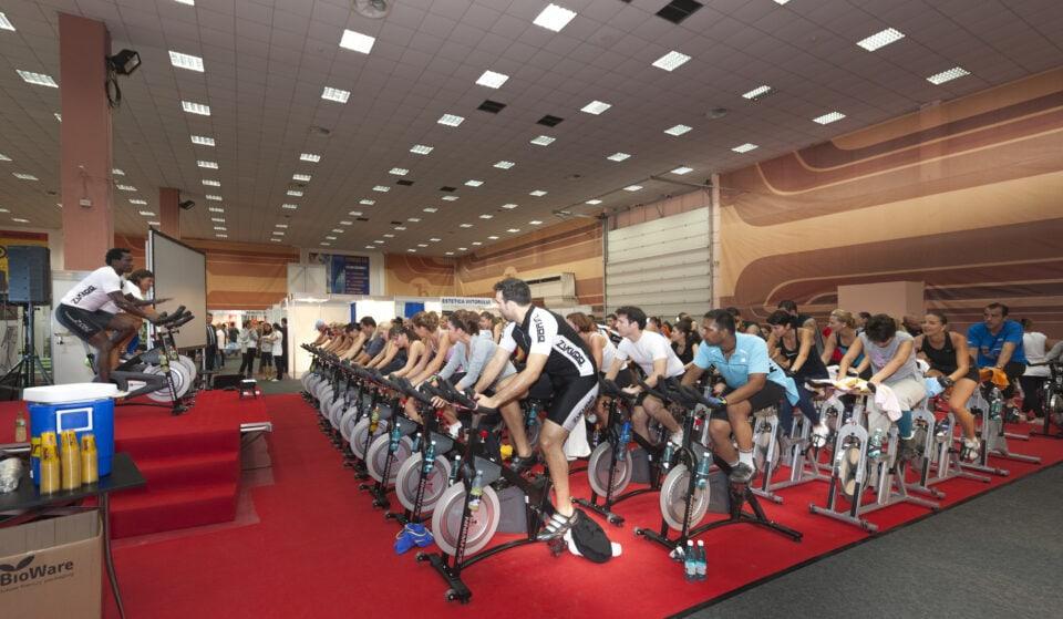 kæmpe marathon spinning event